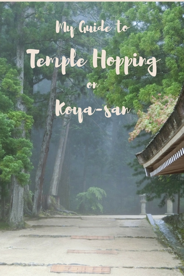 My guide to temple hopping on koyasan
