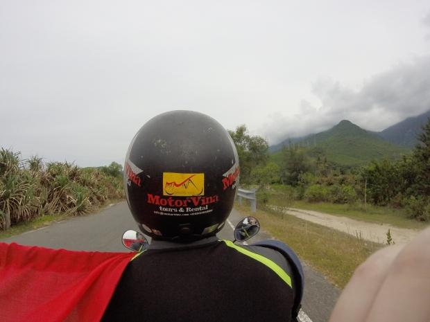 hai van pass vietnam motorbike driver